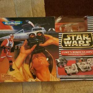 Star Wars Luke binoculars  yavin rebel base